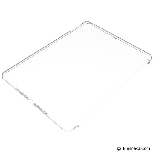 POWER SUPPORT Air Jacket Set for Apple iPad Air Support Smart Cover [PIZ-81] - Clear - Casing Tablet / Case